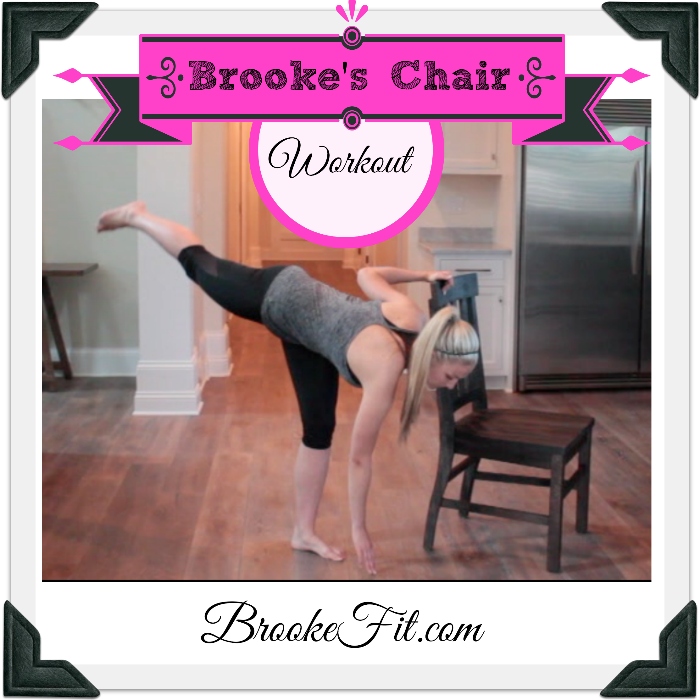 PiYo Chair Workout!