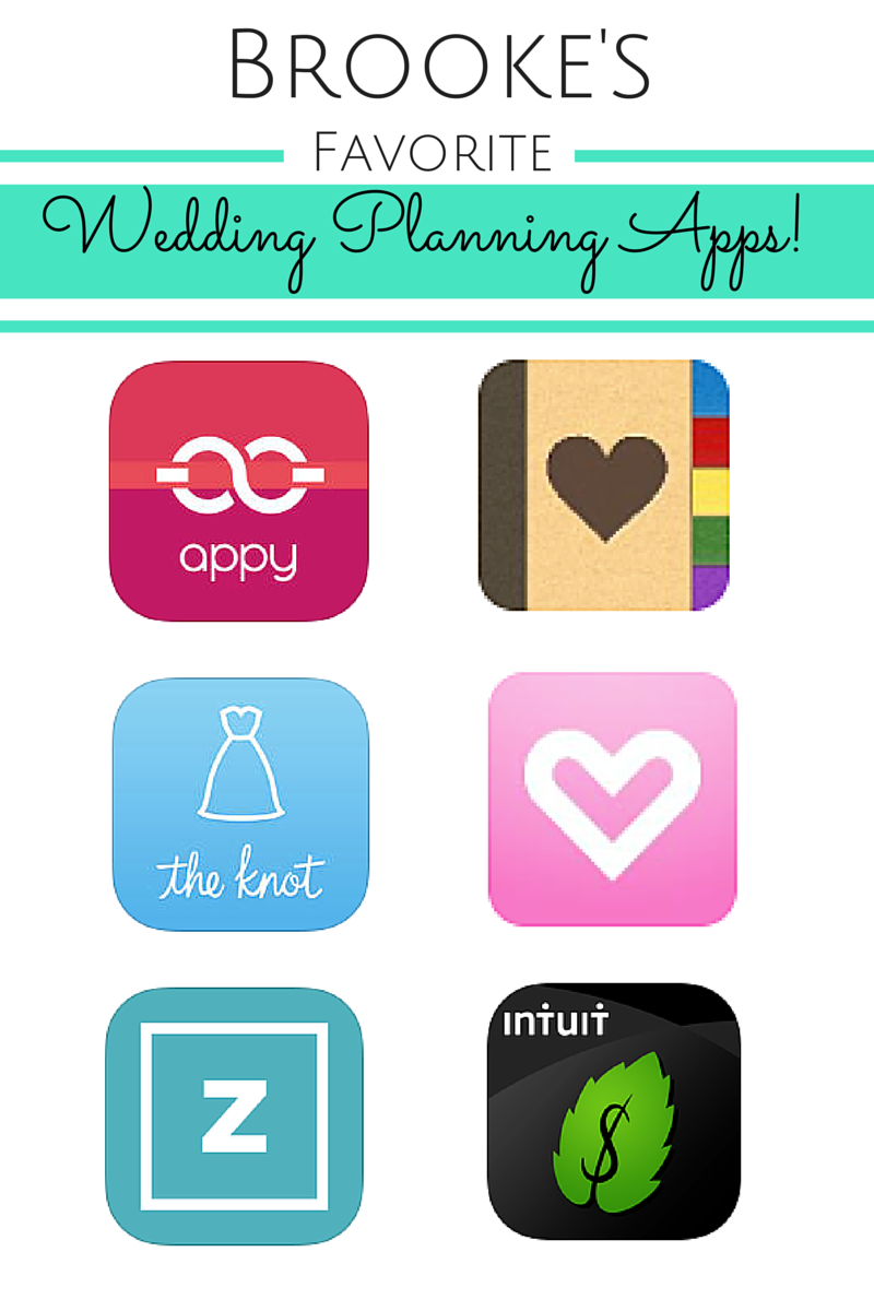 Brooke's Must Have-Apps for Wedding Planning!
