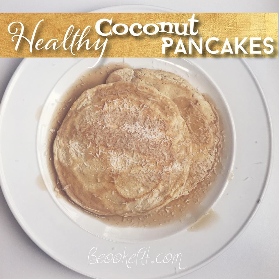 Healthy Coconut Pancakes